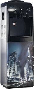 Кулер для воды Ночной город с холодильником