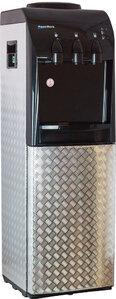 Кулер для воды Хром 3D со шкафчиком