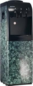 Кулер для воды Камень малахит со шкафчиком