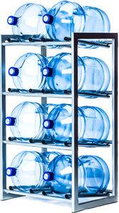 Стойка для 8 бутылей по 19 литров разборная