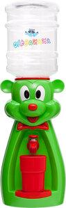 Детский кулер Аква Няня Мышка зеленая с красным