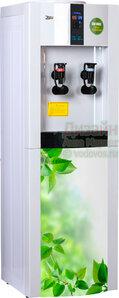 Кулер для воды Aqua Work 16-LD/EN-ST Зеленые листики
