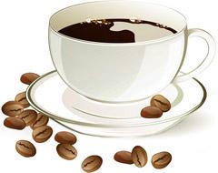 Кулер для воды с кофе