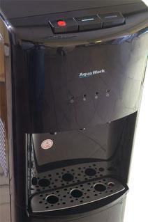 Каплесборник, кнопки и индикация на кулерах Aqua Work 1243 и 1245-S
