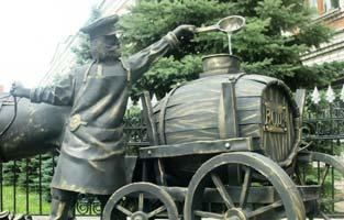 Водовоз в Ульяновске